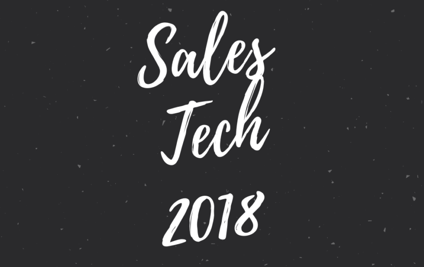 Sales Tech 2018 @ Tennispalatsi